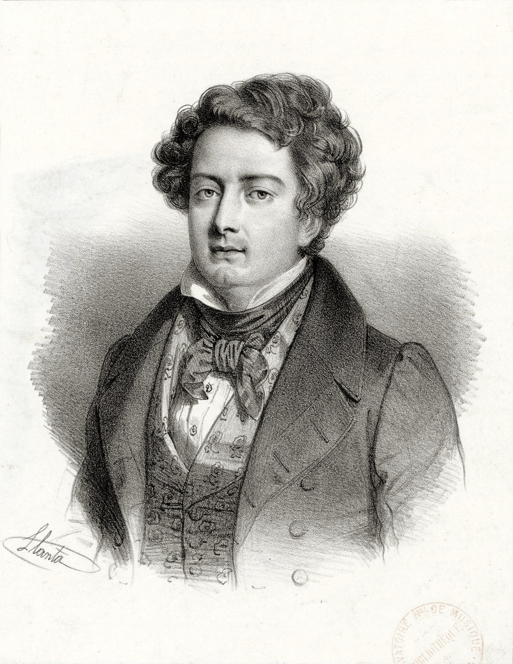 print by Jacques François Llanta, from the Bibliothèque nationale de France, département Musique