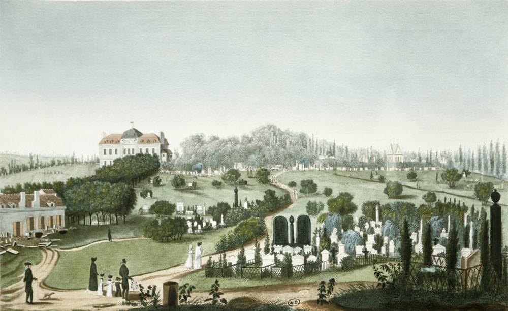 Père-Lachaise c. 1815