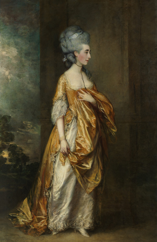 Grace Elliott painted by Thomas Gainesborough c. 1778, Metropolitan Museum of Art, NY, NY, USA