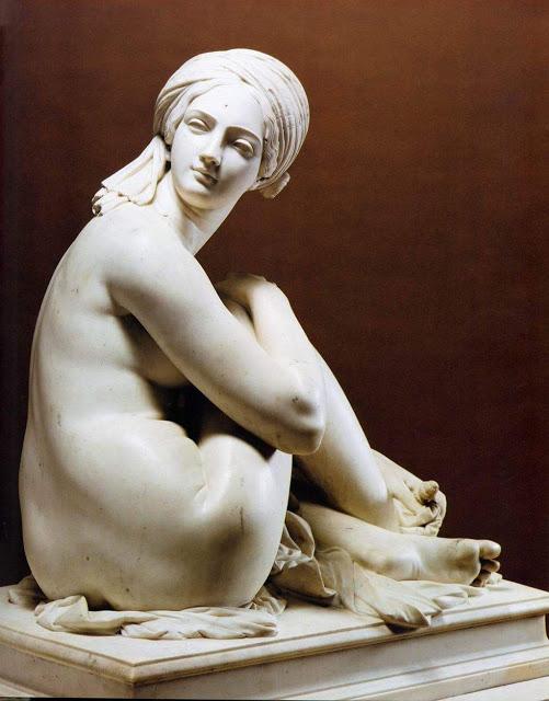 Odalisque , 1841, Musée des beaux-arts de Lyon, France