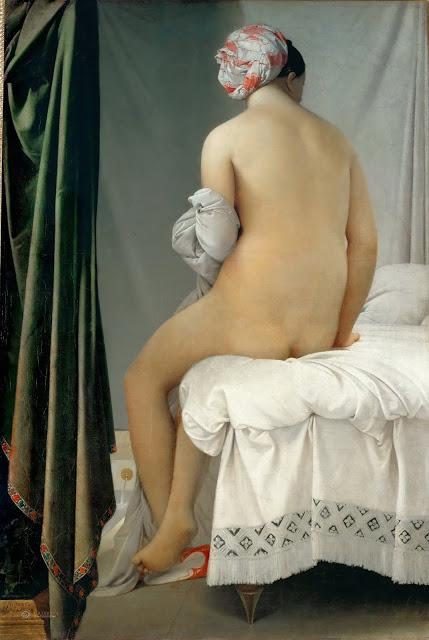 La baigneuse Valpinçon , 1808, Louvre, Paris