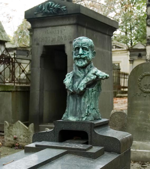 Bust (1910) of Jean by Teresa Feoderovna Ries.