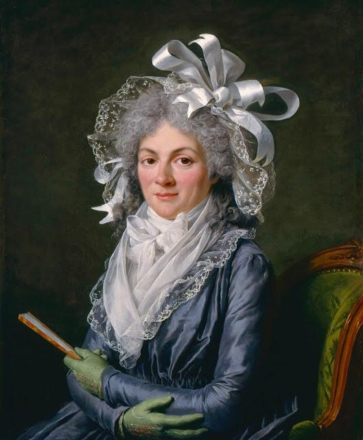 portrait by Adélaïde Labille-Guiard