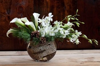 Winter Solstice, one of our most popular seasonal arrangements!
