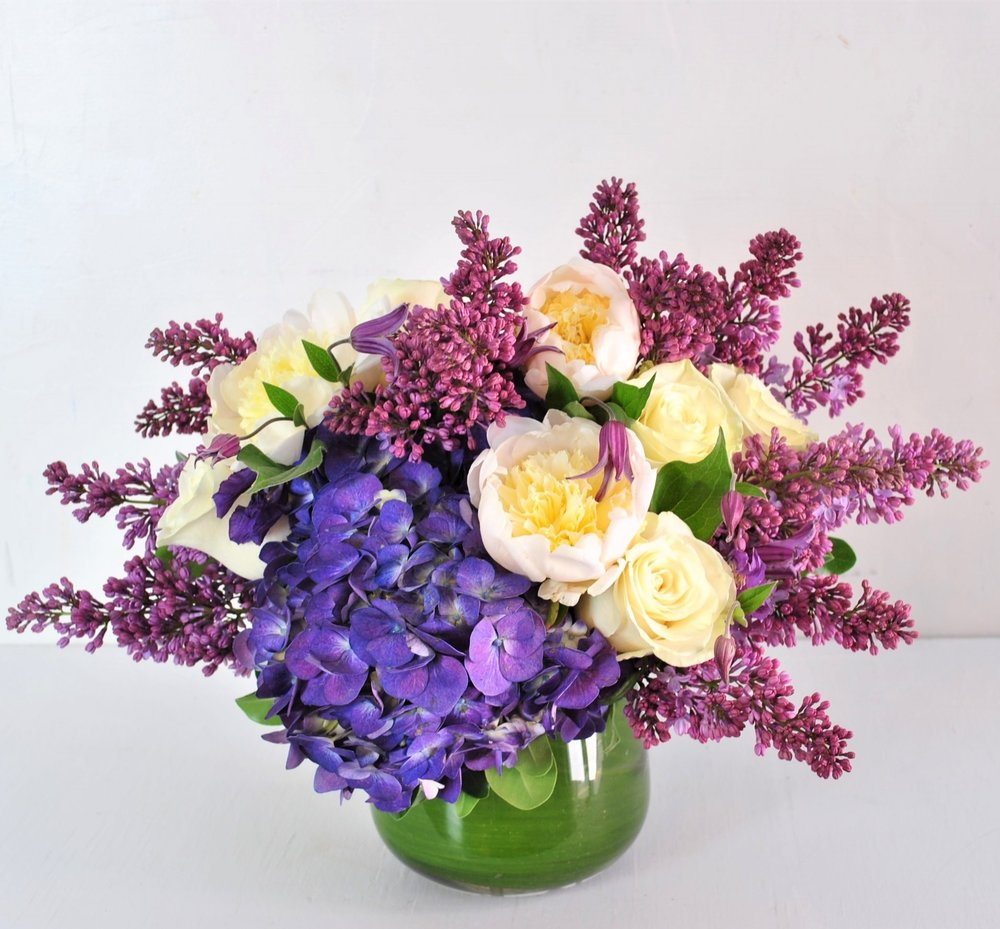 lilac florist in beacon hill