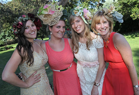 Boston Mayor's Rose Garden Party