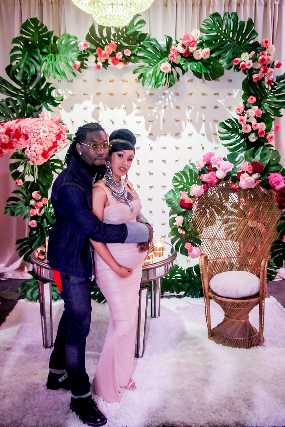 Cardi B and Offset's June 26 2018 Baby Shower