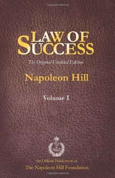 Law of Success - Napoleon Hill