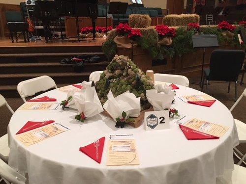 Yonah Mtn Christmas Table Host — Helen First Baptist Church