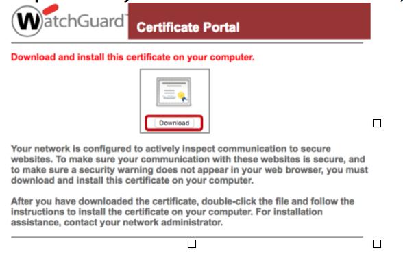 Deploying WatchGuard DPI Certificates Through Group Policy — JSCM Group