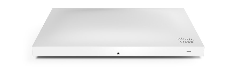 Cloud Hosted Cisco Meraki Access points allow monitoring and configuration from anywhere.