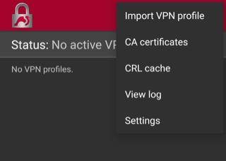 WatchGuard IKEv2 Mobile VPN