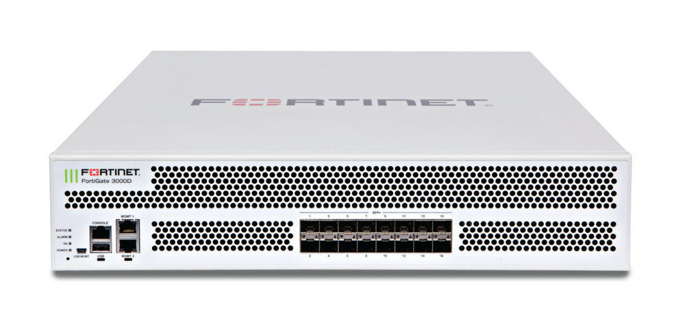 Fortinet FortiGate 3000D FG-3000D and 3000D-DC