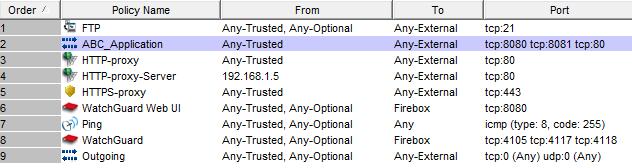 Manual-Order Mode ABC_Application screen shot