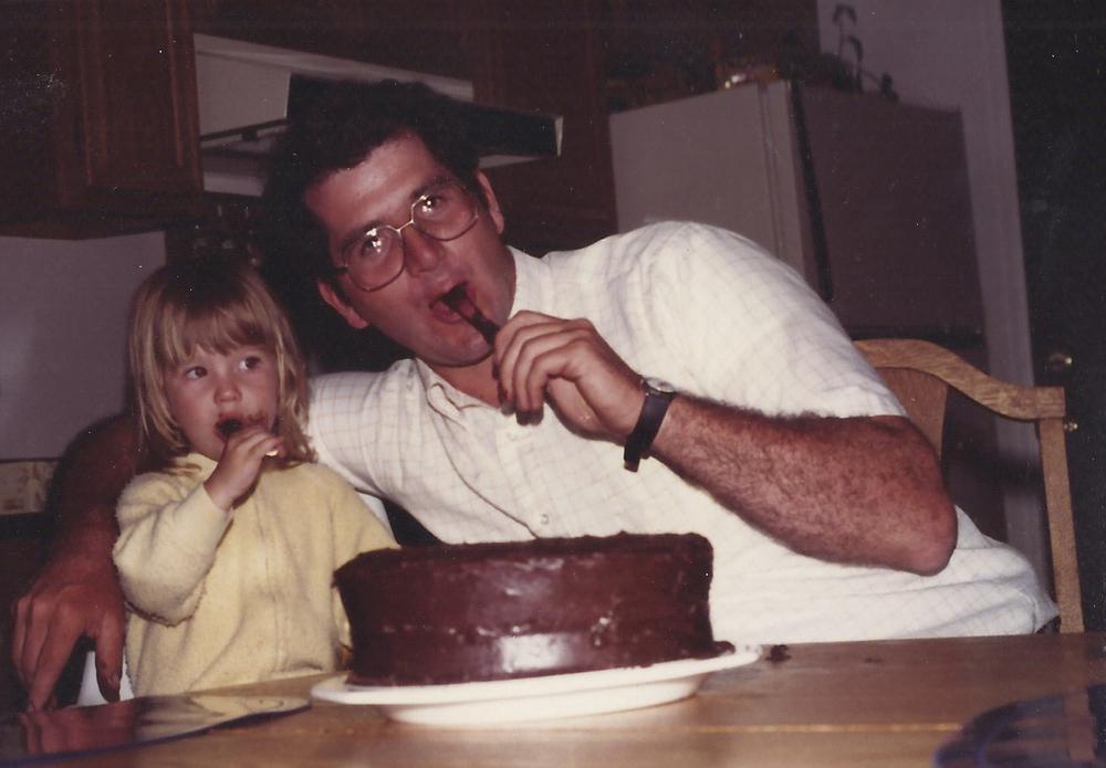 Mmmmm chocolate cake.