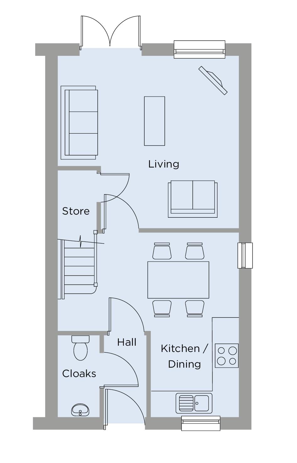 The Newton Ground Floor