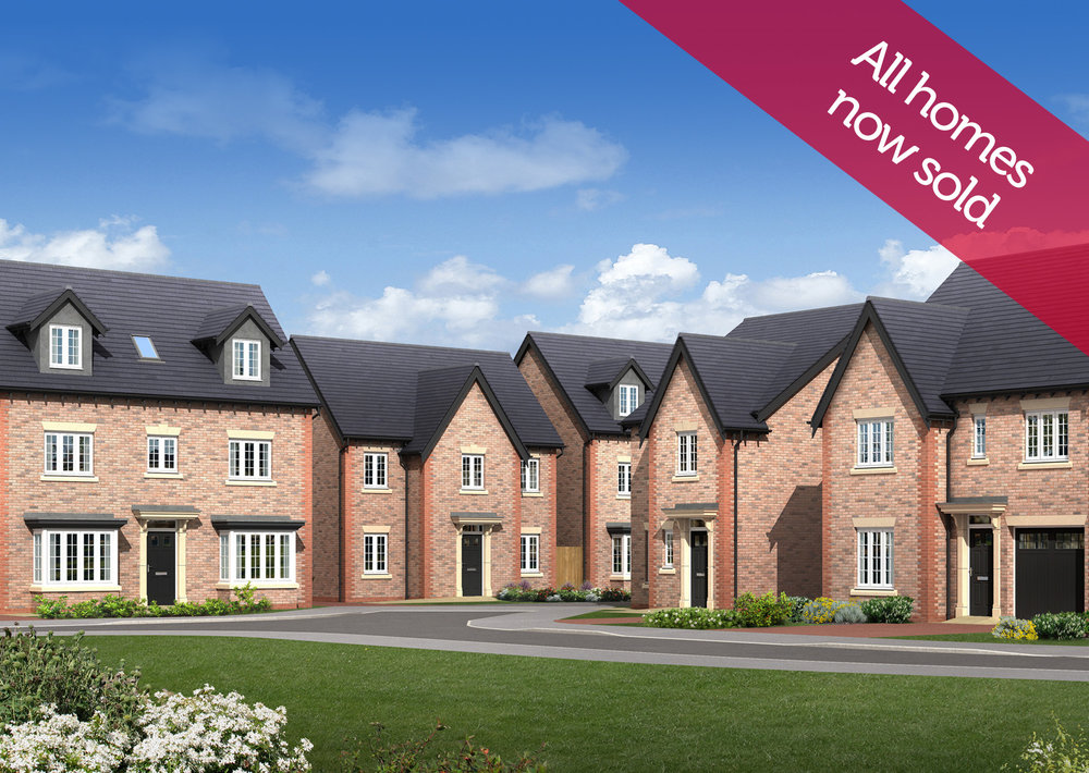 Fulwood Green     FULWOOD - PRESTON    Idyllic setting on the edge of the city   2, 3, 4, & 5 bed luxury homes