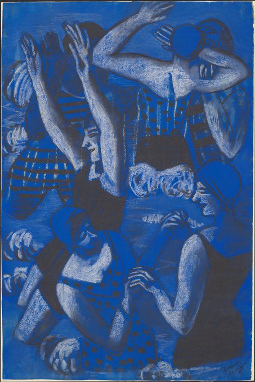 "Max Beckmann | ""The Bathers"" | 1928"