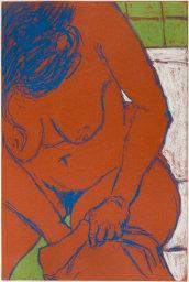"George Segal | ""Seated Female Nude"" | 1965"