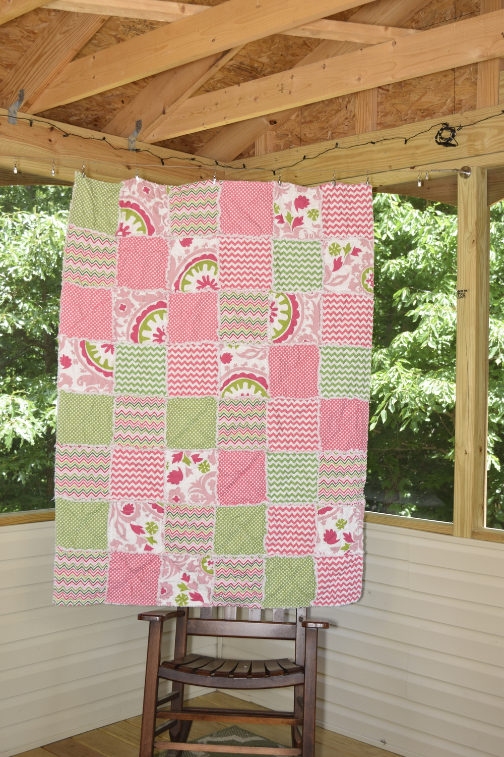 This quilt was just finished recently!