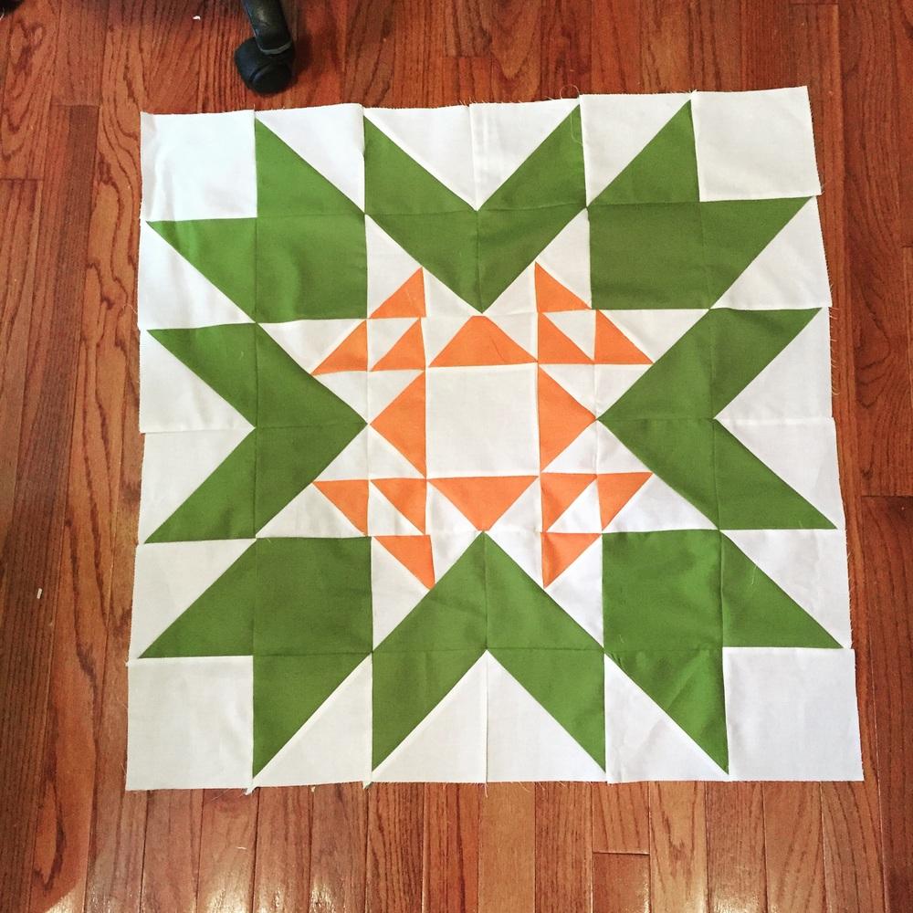 My latest selfish sewing quilt. Moda modern building blocks. Sew much fun!