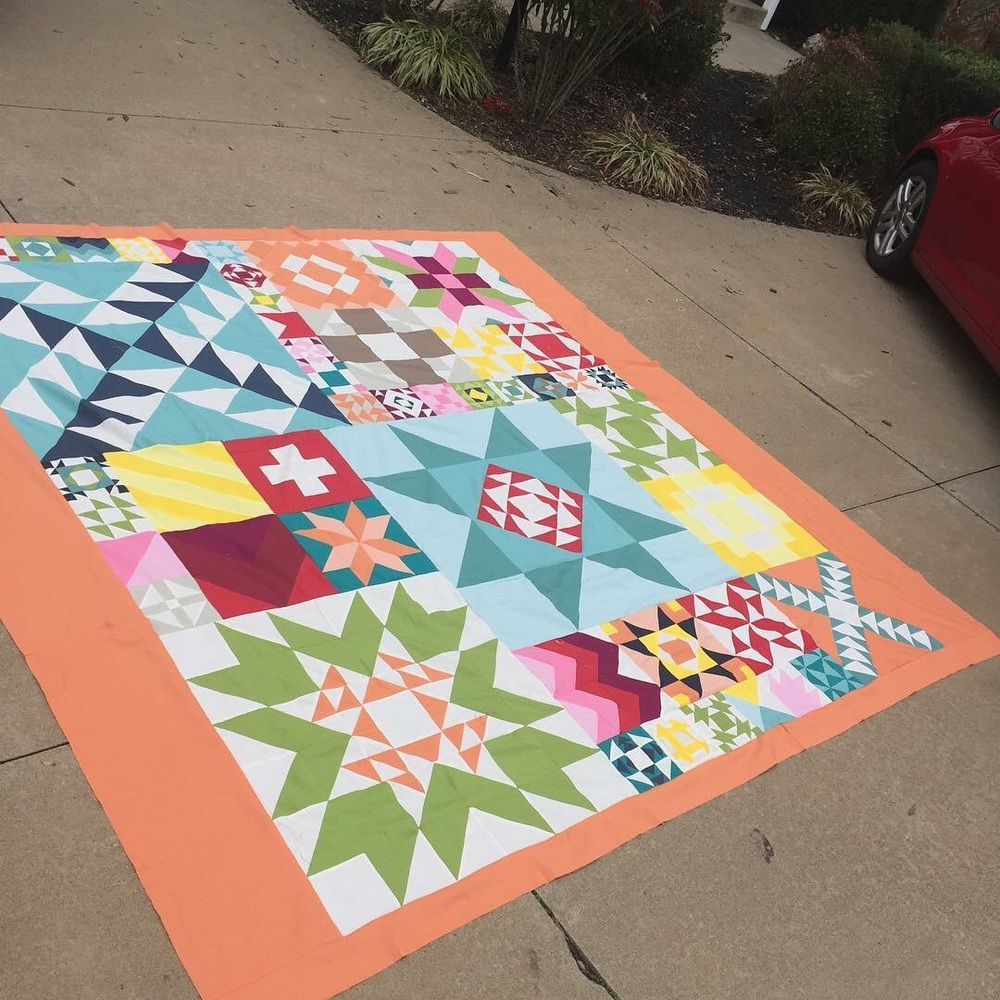 This is the top of quilt one.