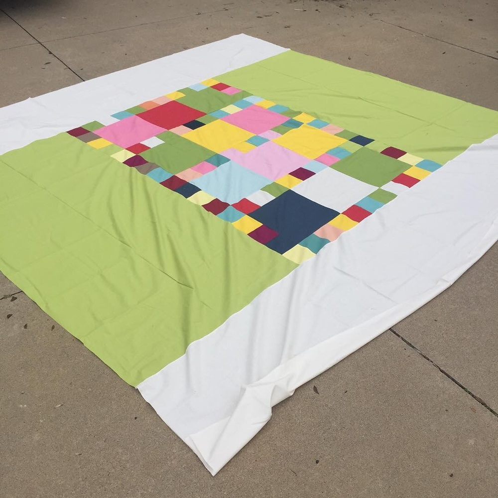 This is the back of quilt 1