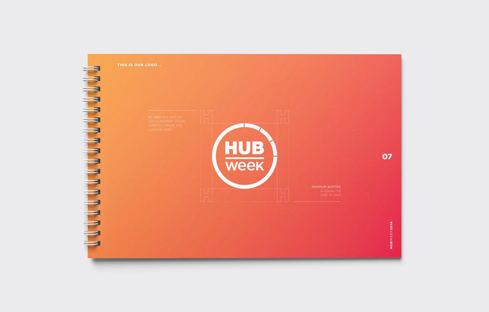 HUBweek Brand Guidelines Logo