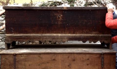 slovene skrinje salvaged for refurbishment