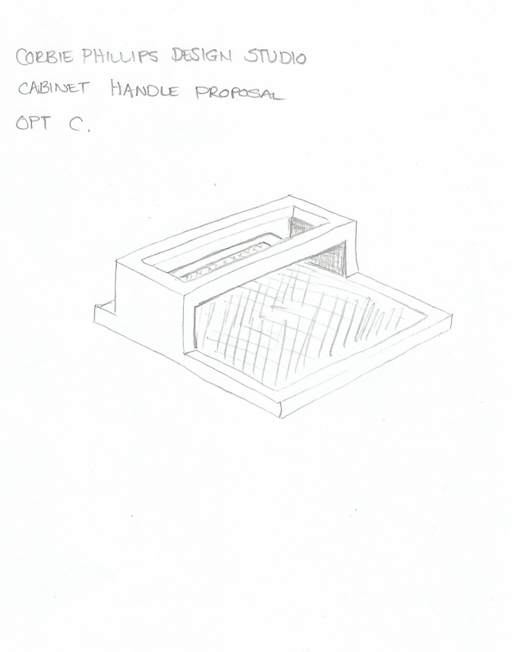 First handle sketch