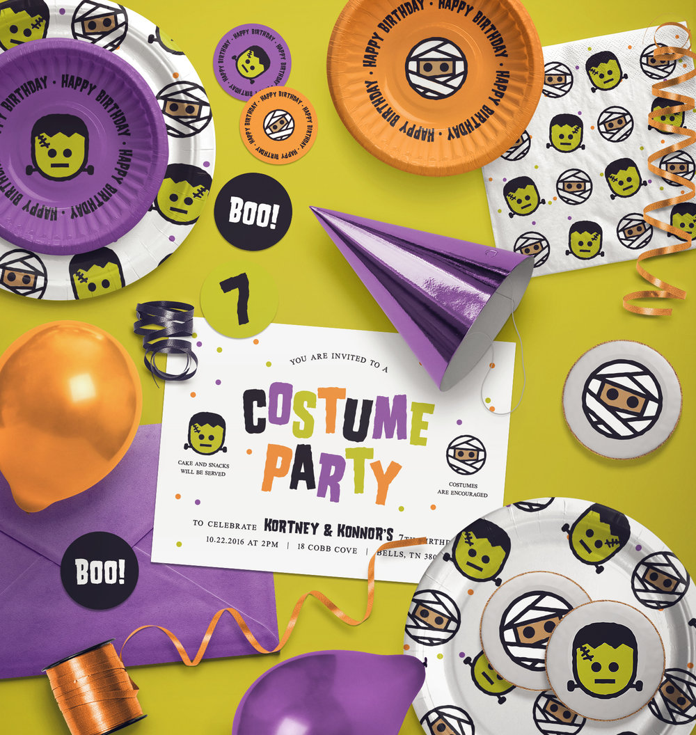 Kids Costume Birthday Party Collection