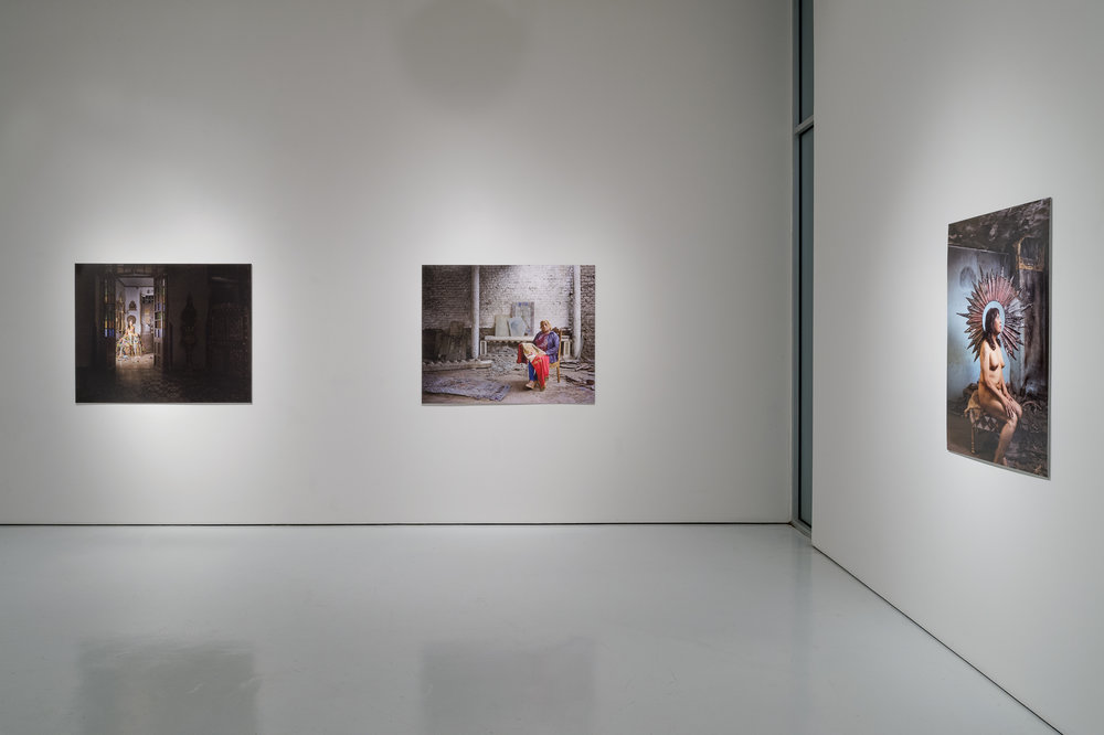 "Installation view of ""Canon"" at the McClain Gallery, Houston, TX. (Photo Credit: Nash Baker)"