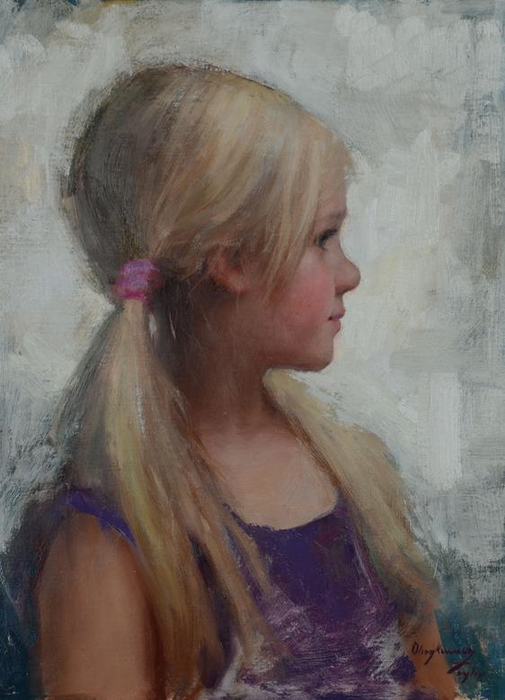 Little Lady 12x9