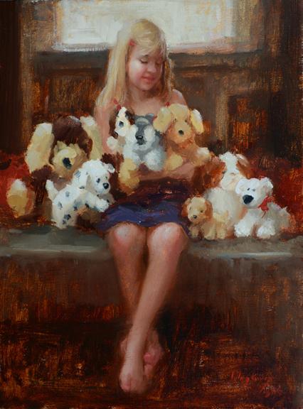 Puppy Love 12x9