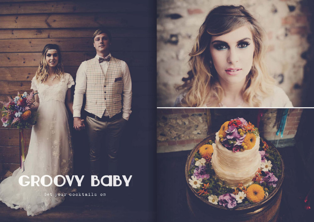 Dotty Vintage Wedding Magazine