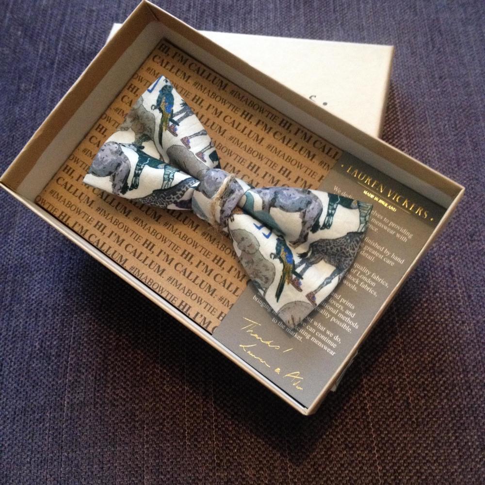 Pre-Tied Callum Bow tie