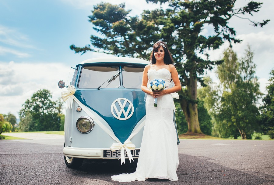 Retro Vibes. Image courtesy of Blue Pumpkin VW Wedding Hire