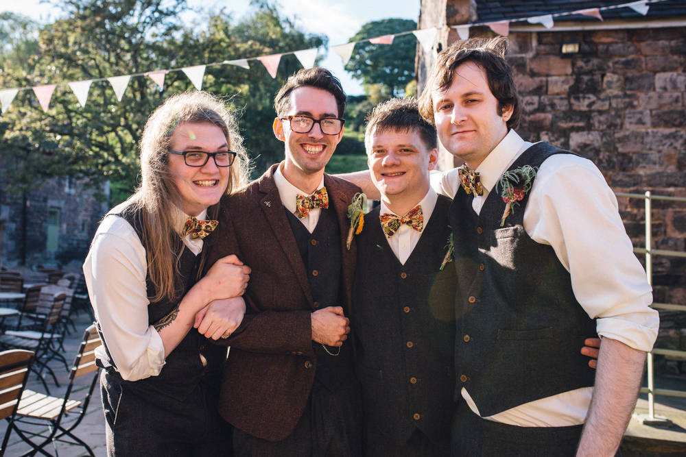 Liberty Bow Tie Wedding Groomsmen