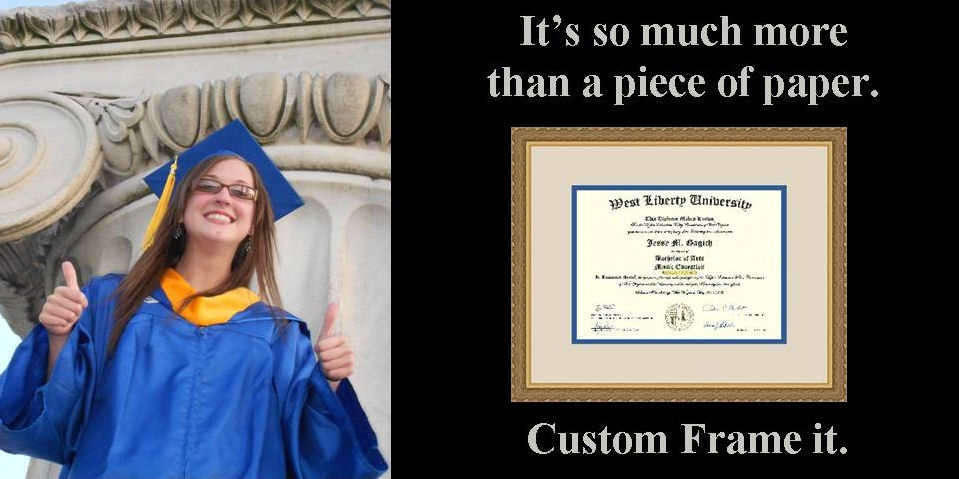 graduation frame sample