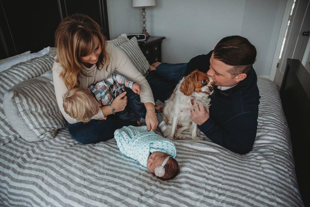 Newborn Lifestyle Photographer | Saint Paul, MN
