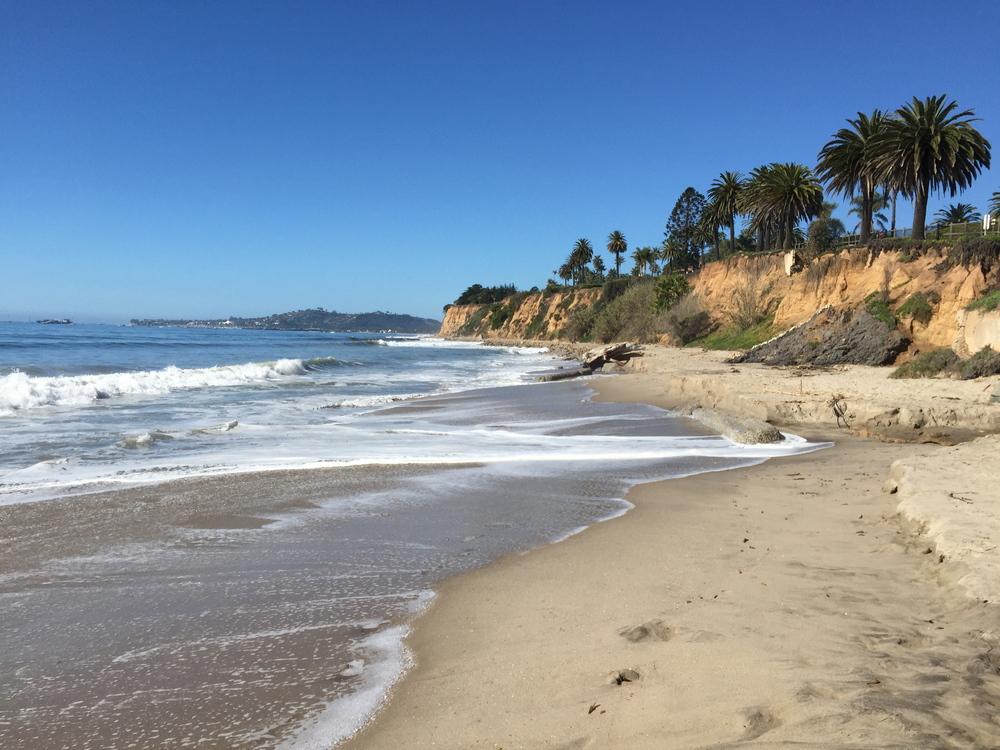 Butterfly Beach, Santa Barbara.