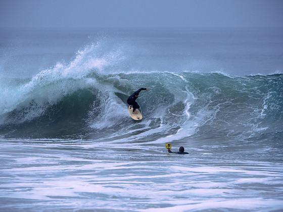 Local Santa Barbara Beach Surfing