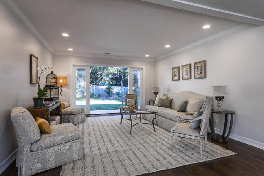 A private, newly remodeled home at the end of a private lane near Crane Country Day School is on the market in Montecito.
