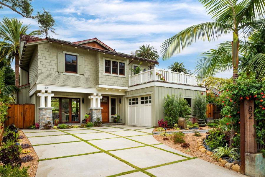 A contemporary Craftsman on Humphrey Road sold for $2.8MM in May (listed and sold by Michelle Damiani and Jennifer Johnson of Berkshire Hathaway)