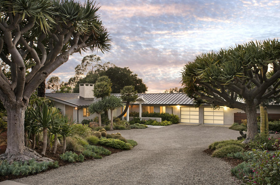 Ocean views on Cima Linda: this turnkey home with guest house boasts views galore, and sold in September for $4MM (listed by Michelle Eskandari of Village Properties, sold by Thomas Johansen of Village Properties)