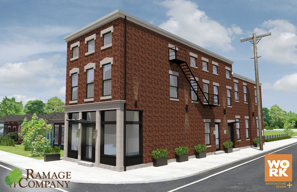 New Ramage Company Headquarters - 900 East Jefferson Street in NuLu District