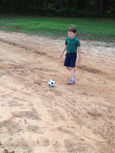 Future David Beckham? Maybe.....