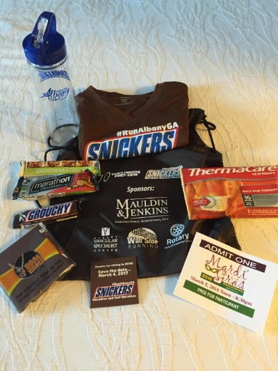 PRETTY AWESOME SWAG BAG!!!!