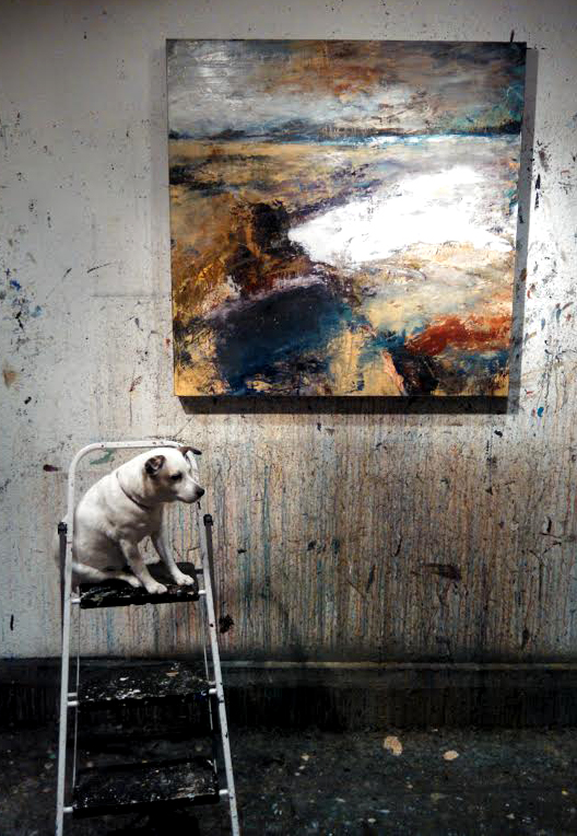 "Lily Mathie-Gumpert is, ""ART DOG!"""