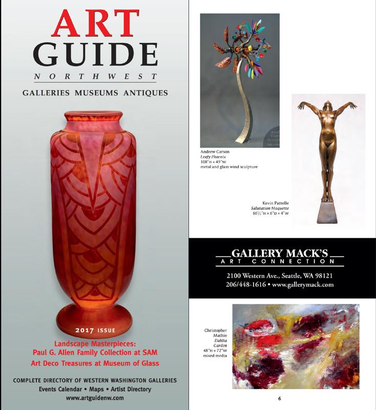 Art Guide Northwest, 2017